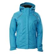 Descente Phoebe Womens Insulated Ski Jacket, Sky Blue, medium