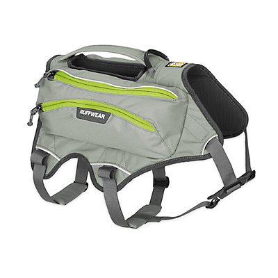 Ruffwear Singletrak Pack, Cloudburst Gray, viewer