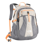 The North Face Women's Recon Backpack 2015, Ether Grey-Peach Cobbler Orang, medium
