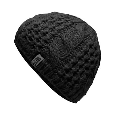 The North Face Youth Cable Minna Kids Hat, TNF Black, viewer