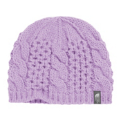 The North Face Youth Cable Minna Kids Hat, Bloom Purple, medium