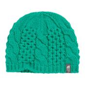The North Face Youth Cable Minna Kids Hat, Kokomo Green, medium