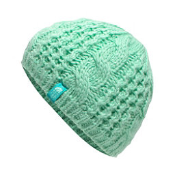 The North Face Youth Cable Minna Kids Hat (Previous Season), Ice Green, 256