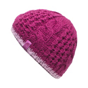 The North Face Youth Cable Minna Kids Hat, Roxbury Pink, medium