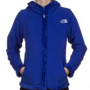 The North Face Morningside Fleece Girls Jacket, Vibrant Blue, medium