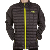The North Face Thermoball Hybrid Kids Midlayer, Graphite Grey, medium