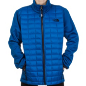The North Face Thermoball Hybrid Kids Midlayer, Snorkel Blue, medium