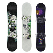Used Premium Boys Snowboard and Binding Package, , medium