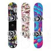 Used Premium Girls Snowboard and Binding Package, , medium