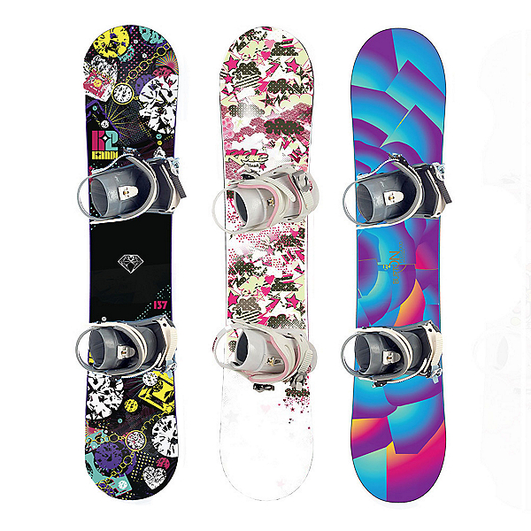 Used Premium Girls Snowboard and Binding Package, , 600