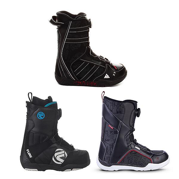 Used Premium Boa Boys Snowboard Boots Snowboard Boots, , 600
