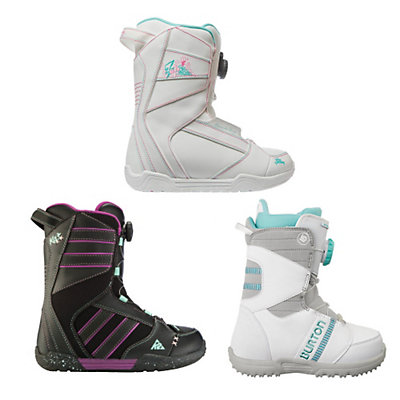 Used Premium Boa Girls Snowboard Boots Snowboard Boots, , viewer