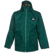 The North Face Tight Ship Mens Shell Ski Jacket, Night Green Wooly, medium