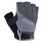 NRS Axiom Paddling Gloves, Gray-Black, medium