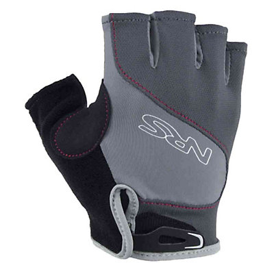 NRS Axiom Paddling Gloves, Gray-Black, viewer