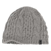The North Face Cable Minna Beanie Womens Hat, Metallic Silver, medium