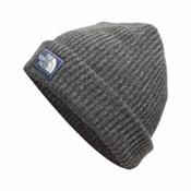 The North Face Salty Dog Beanie Hat, Graphite Grey-Mid Grey, medium