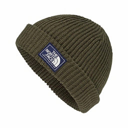 The North Face Salty Dog Beanie Hat, New Taupe Green-Burnt Olive Ma, 256