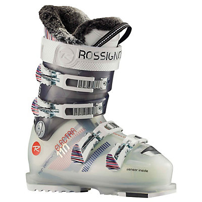 Rossignol Electra SI 110 Womens Ski Boots, Pure Transparent, viewer