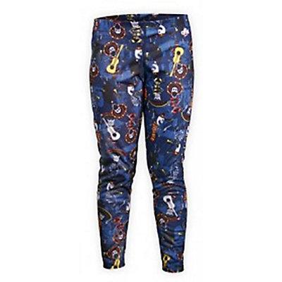 Hot Chillys Midweight Print Kids Long Underwear Bottom, , viewer