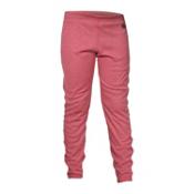 Hot Chillys Geo-Pro Girls Long Underwear Bottom, Rose Heather, medium