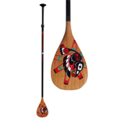 Boardworks Surf Raven Adjustable Stand Up Paddle, 66.5-92in, medium