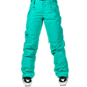 The North Face Freedom LRBC Insulated Womens Ski Pants, Retro Green, medium