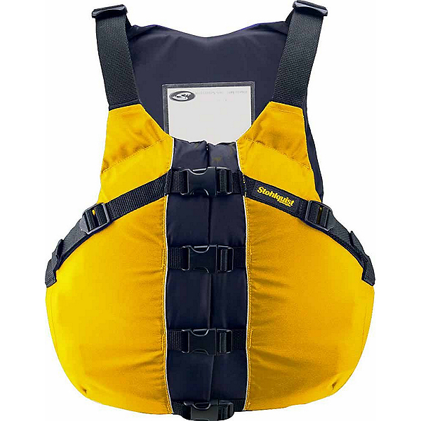 Stohlquist OSFA Life Jacket Adult Kayak Life Jacket 2017, Mango, 600