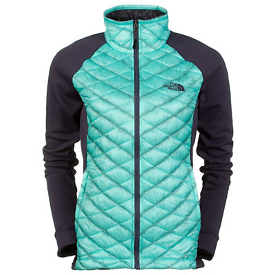 The North Face Momentum Thermoball Womens Jacket, Greystone Blue