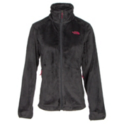 The North Face Osito 2 Womens Jacket, Asphalt Grey-Cerise Pink, medium