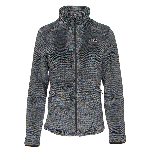 The North Face Osito 2 Womens Jacket (Previous Season), TNF Black-Mid Grey Stripe, 600