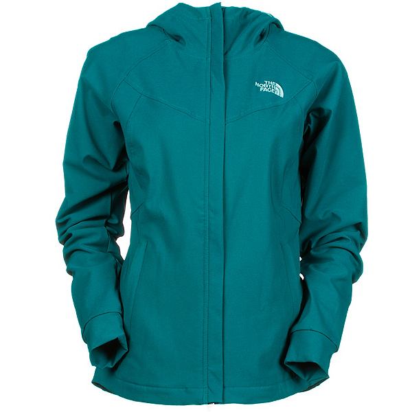 The North Face Maddie Raschel Hoodie Womens Soft Shell Jacket (Previous Season), , 600