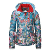 Bogner Kaja D Womens Insulated Ski Jacket, Asian Floral, medium