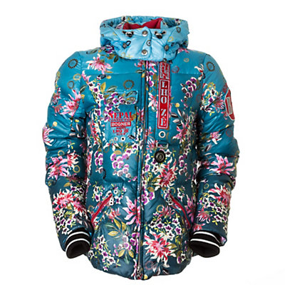 Bogner Kaja Down Womens Insulated Ski Jacket, Asian Floral, viewer