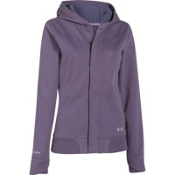 Under Armour ColdGear Infrared Echos Cotton Womens Soft Shell Jacket, Twilight Purple-Sugar Plum