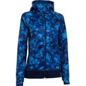Under Armour ColdGear Infrared Zenith Womens Hoodie, Russian Nights-Breathtaking Bl, medium