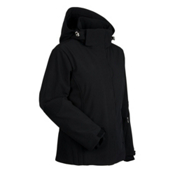 Nils Leah Womens Insulated Ski Jacket, Black, medium