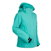 Nils Leah Womens Insulated Ski Jacket, Turquoise, medium