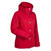Nils Marisa Womens Insulated Ski Jacket, Red, medium
