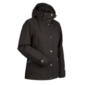 Nils Marisa Womens Insulated Ski Jacket, Black, medium