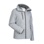 Nils Kendall Womens Insulated Ski Jacket, Pebble Gray, medium