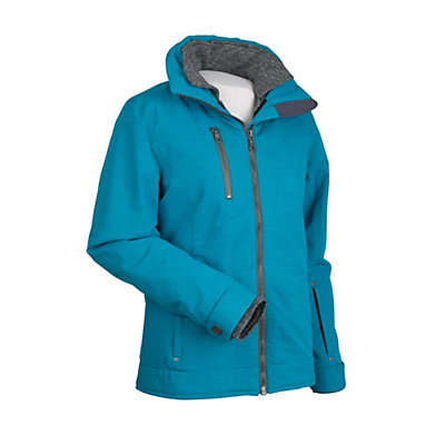 Nils Kendall Womens Insulated Ski Jacket, Pebble Gray, viewer