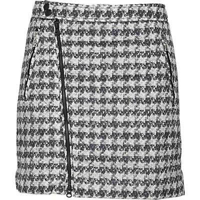 Bogner Fire + Ice Isa Skirt, Black-White, viewer