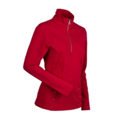 Nils Bronwyn Womens Mid Layer, Red, medium