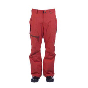 Cappel Calling Mens Snowboard Pants, Red Copper Dobby, medium