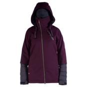 Cappel Heartbreak Womens Insulated Snowboard Jacket, Bordeaux Melange, medium