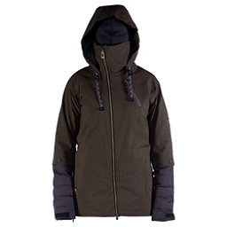 Cappel Heartbreak Womens Insulated Snowboard Jacket, Canteen Tweed, 256