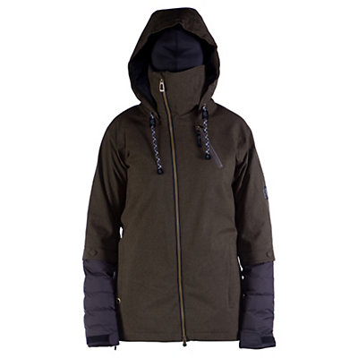 Cappel Heartbreak Womens Insulated Snowboard Jacket, Bordeaux Melange, viewer