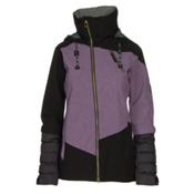 Cappel Heartbreak Womens Insulated Snowboard Jacket, Orchid Tweed, medium