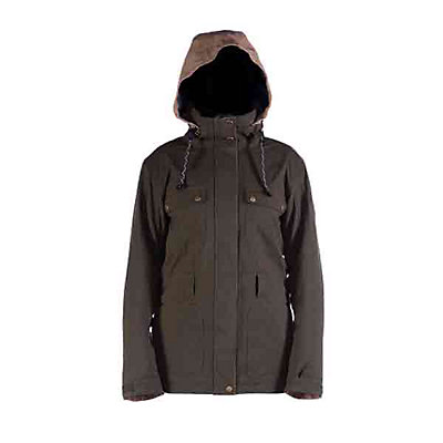 Cappel Secret Womens Insulated Snowboard Jacket, Camel Wool, viewer